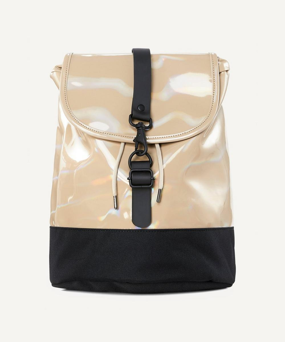 RAINS - Holographic Drawstring Backpack