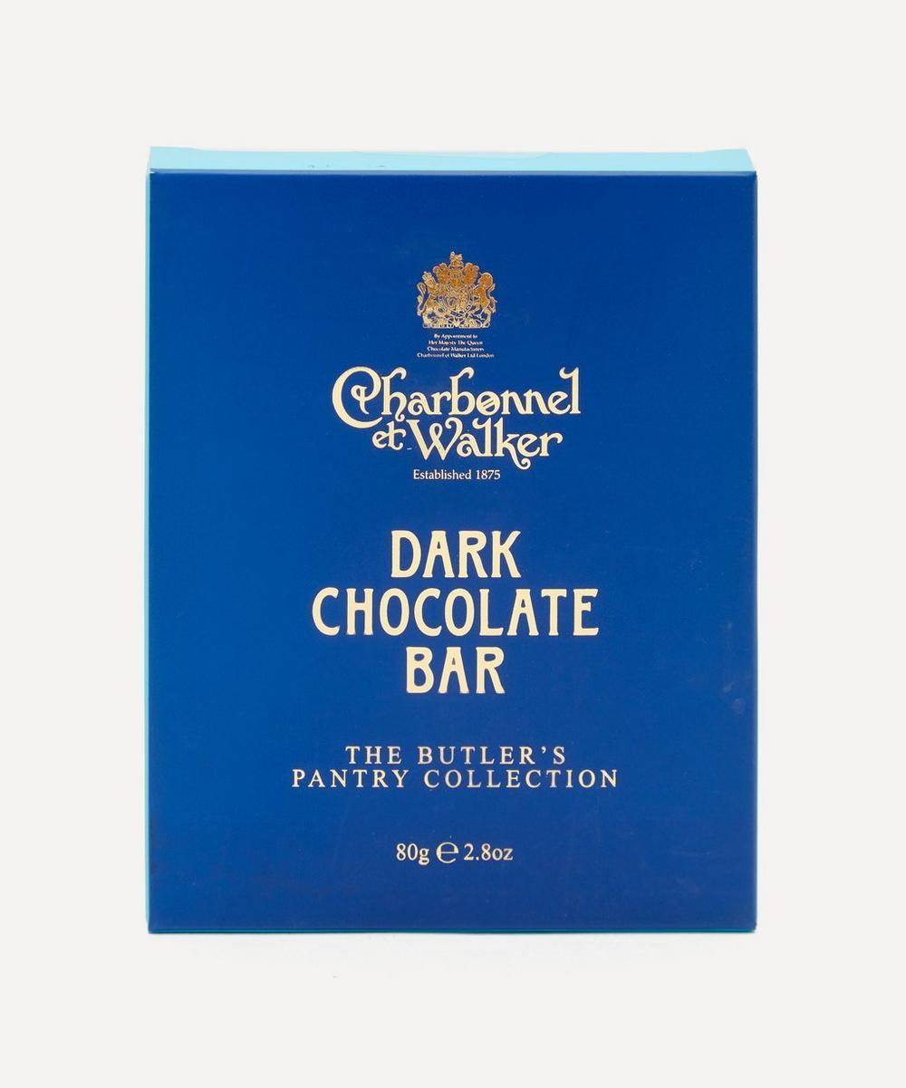 Charbonnel et Walker - Butler's Pantry Dark Chocolate Bar 80g
