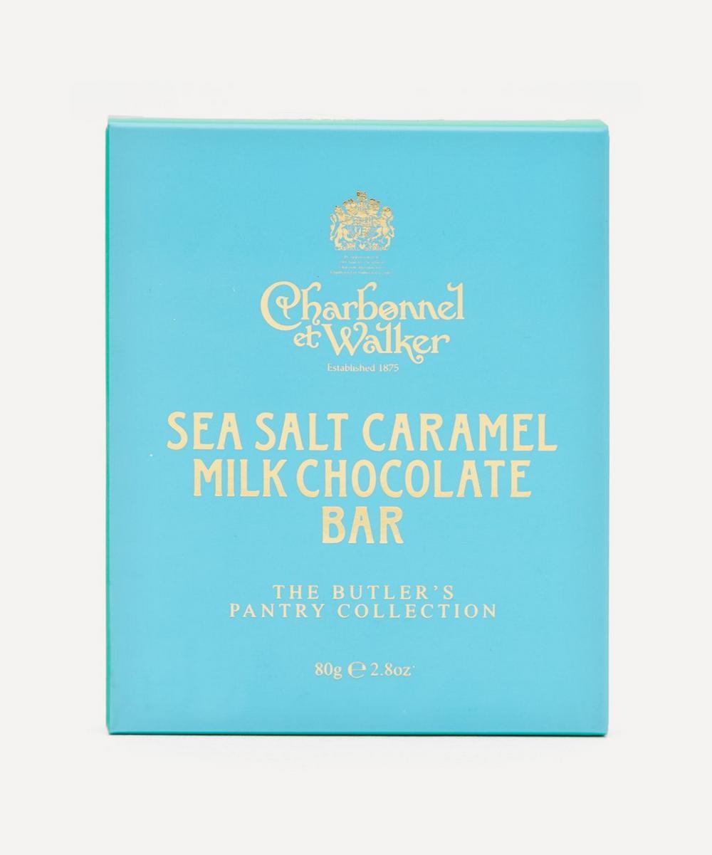Charbonnel et Walker - Butler's Pantry Sea Salt Milk Chocolate Bar 80g