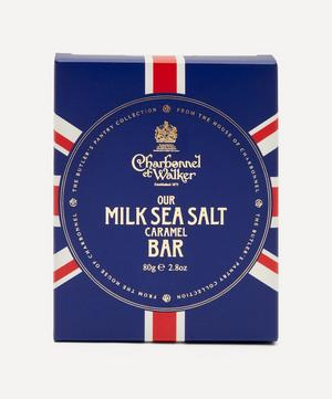 Butler's Pantry Union Jack Sea Salt Milk Chocolate Bar 80g