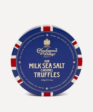 Union Flag Milk Sea Salt Caramel Truffles 120g