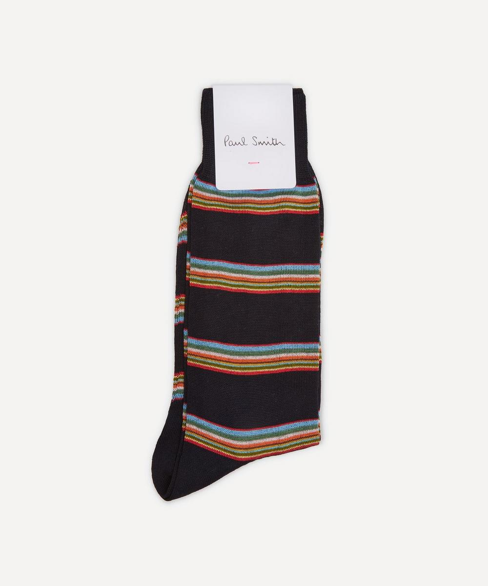 Paul Smith - Mult-Block Stripe Socks