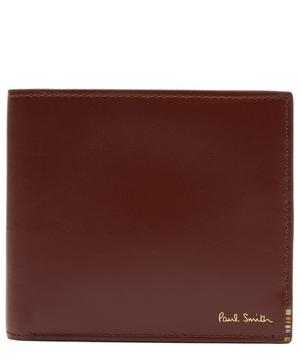 Striped Tab Bifold Wallet
