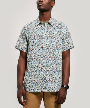 Imran Linen-Blend Short-Sleeved Lasenby Shirt