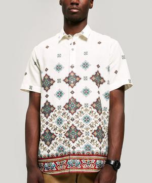 Chatsworth Linen-Blend Short-Sleeved Lasenby Shirt