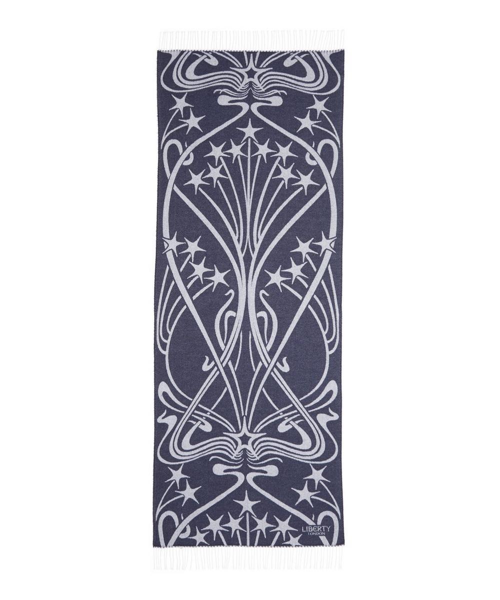 Liberty - Ianthe Star 65 x 180cm Wool-Blend Scarf