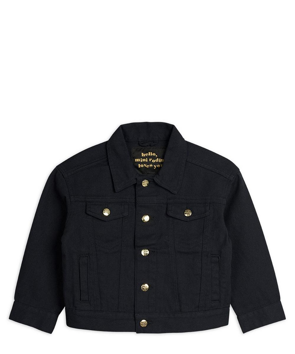 Mini Rodini - Leopard Denim Jacket 2-8 Years