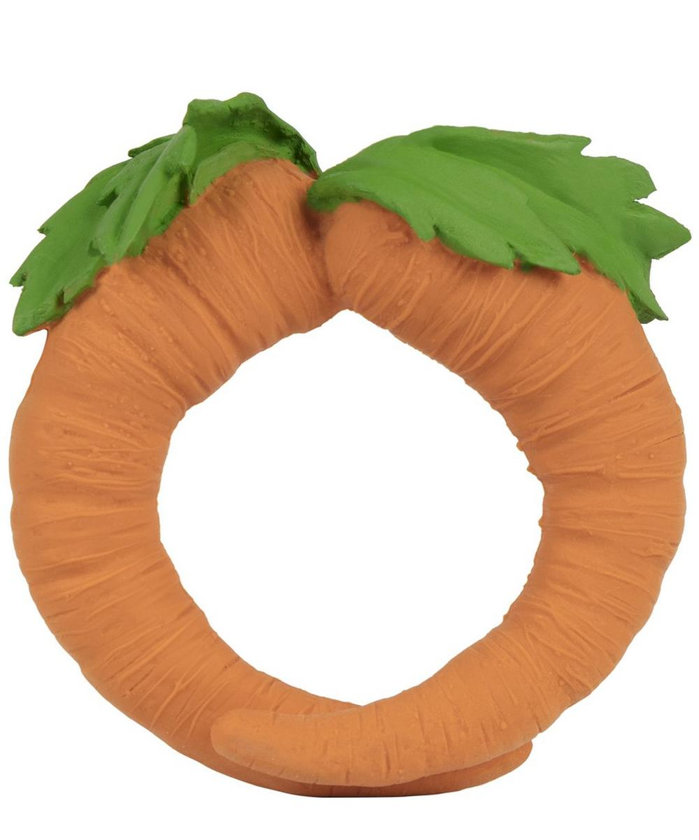 Oli&Carol - Cathy The Carrot Natural Rubber Teether