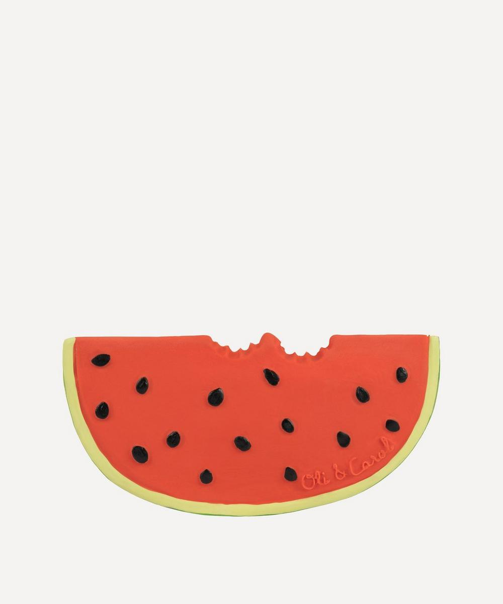 Oli&Carol - Wally the Watermelon Natural Rubber Teether