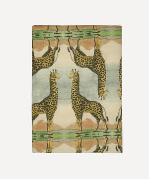 Giraffe Large Linen Tablecloth