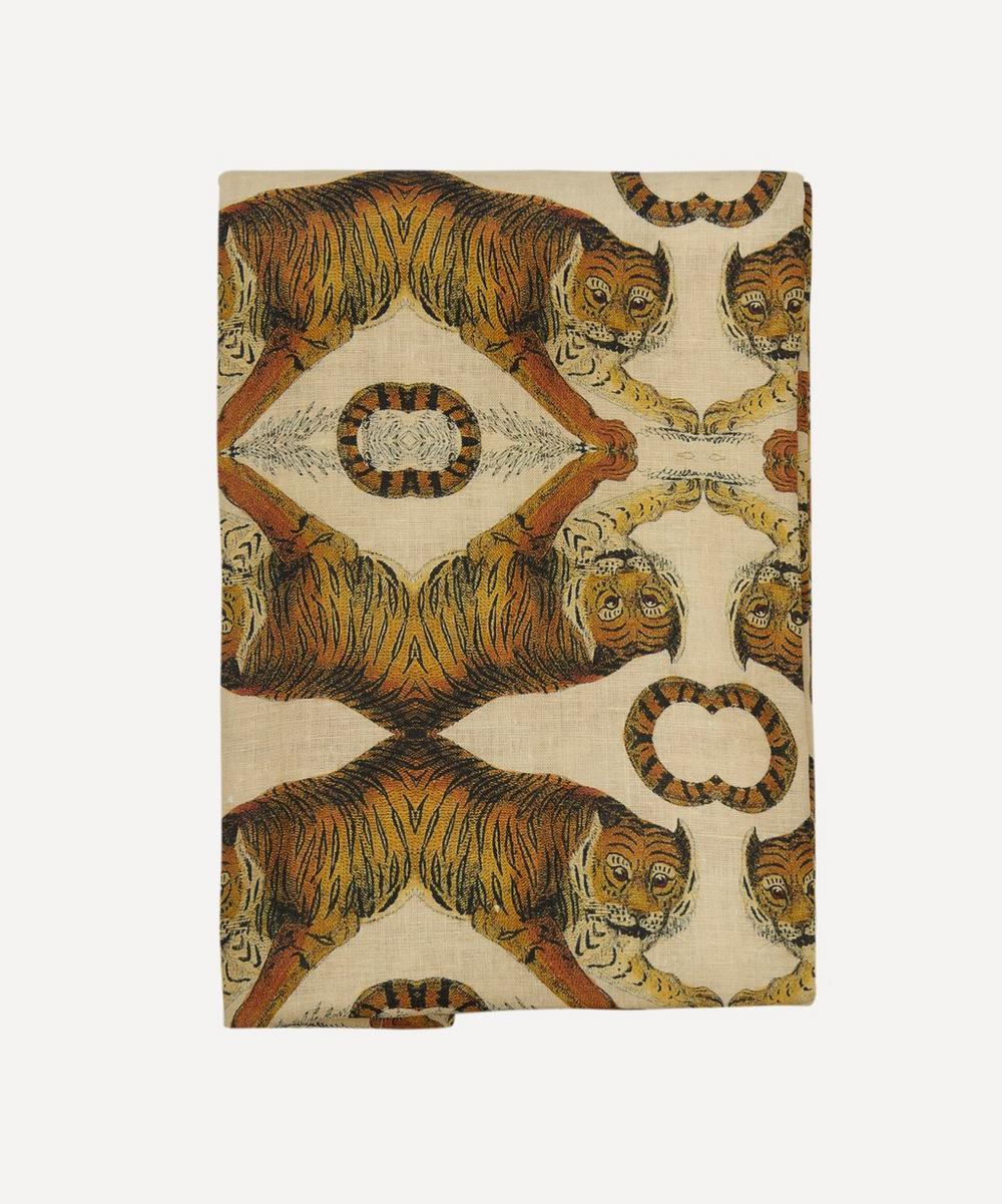 Avenida Home - Tiger Large Linen Tablecloth