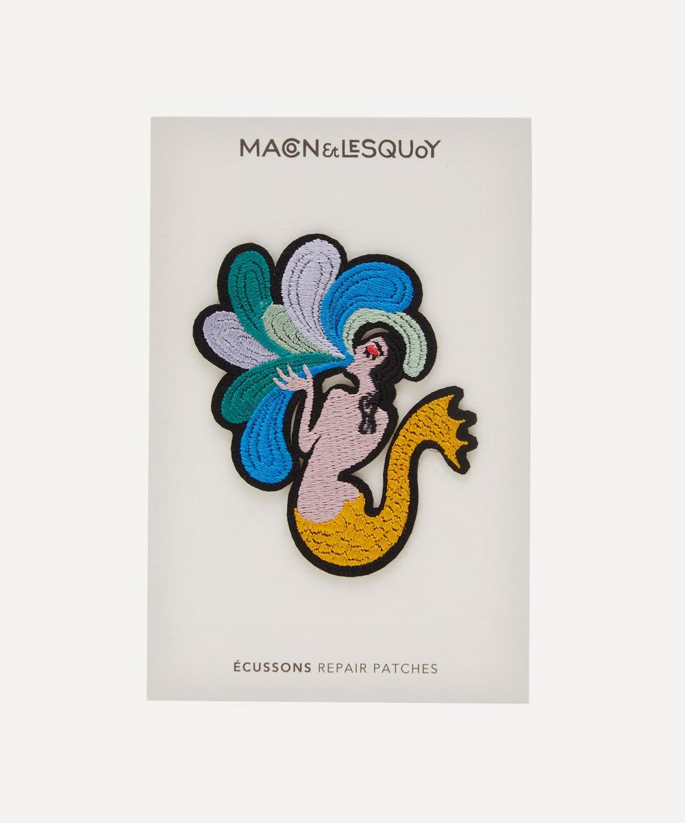 Macon & Lesquoy - Mermaid Embroidered Patch
