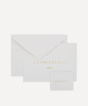 L'Essenziale 18ct Gold Small Chain Bracelet Gift Card