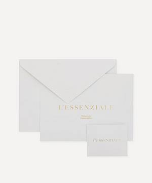 L'Essenziale 18ct Gold Thin Chain Bracelet Gift Card
