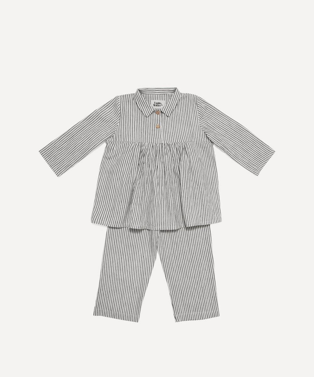 Nights by Wilder - Nico Thin Stripe Pyjama Set 2-8 Years