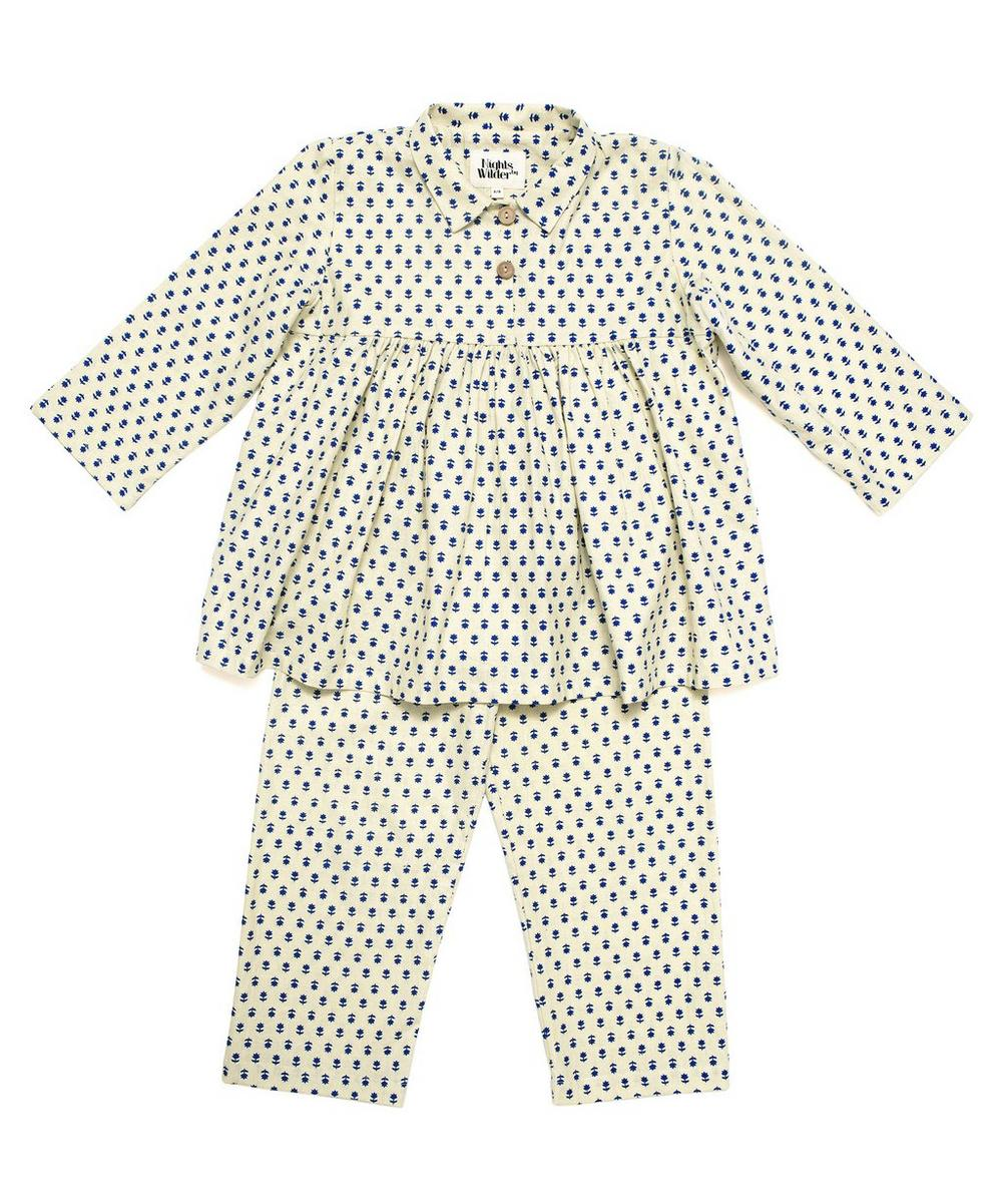Nights by Wilder - Nico Folk Flower Pyjama Set 2-8 Years
