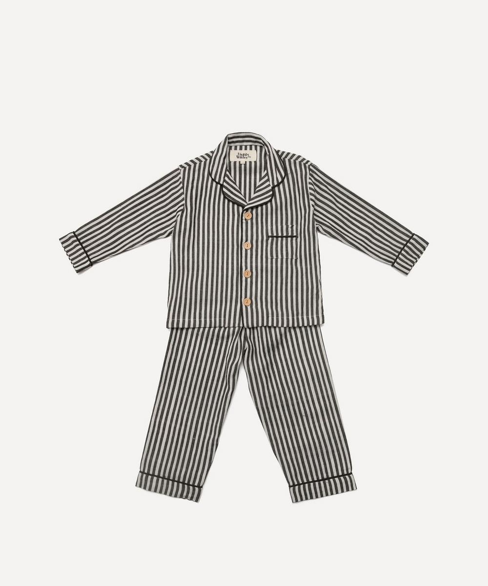 Nights by Wilder - Lennon Stripe Pyjama Set 2-8 Years
