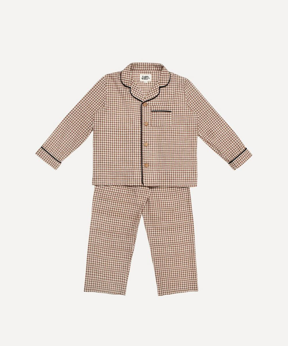 Nights by Wilder - Lennon Gingham Pyjama Set 2-8 Years