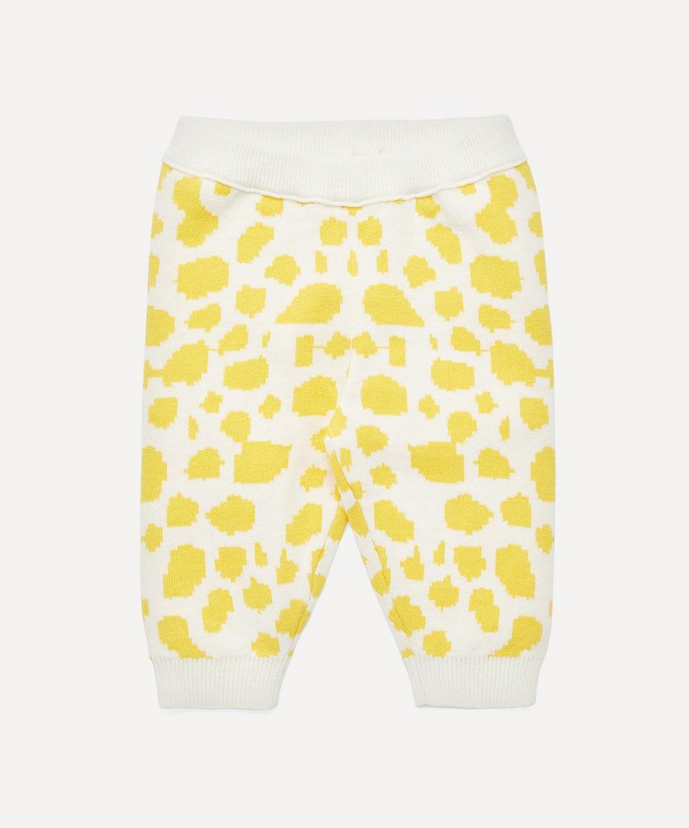 Stella McCartney Kids - Giraffe Spots Knitted Trousers 3-24 Months