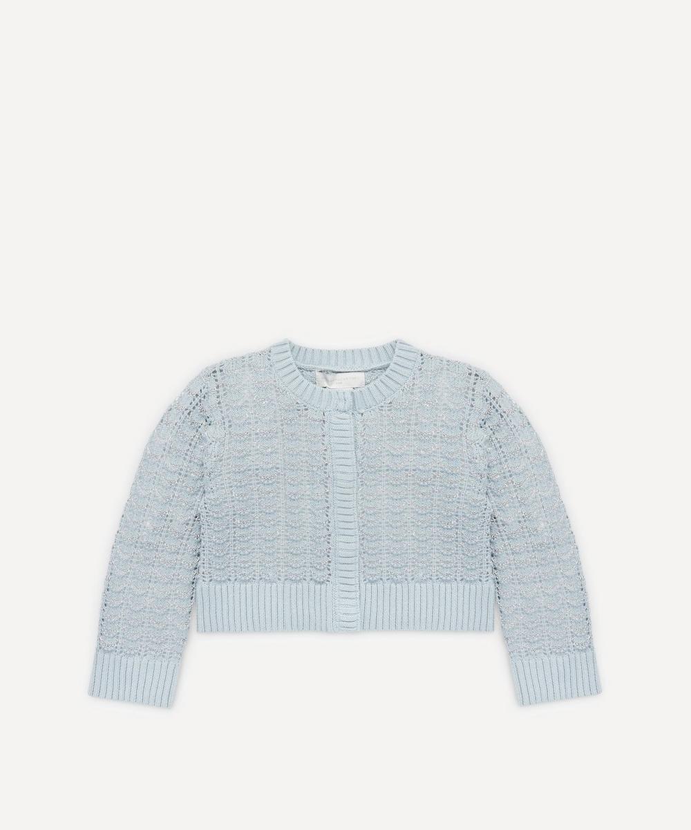 Stella McCartney Kids - Shell Knitted Cardigan 2-8 Years