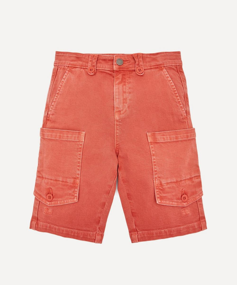 Stella McCartney Kids - Washed Denim Shorts 2-8 Years