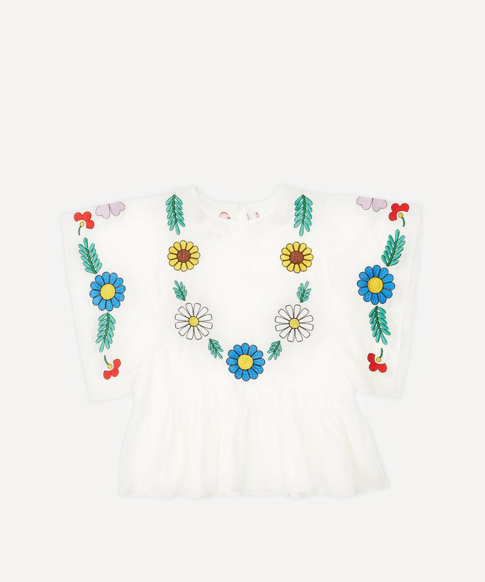 Stella McCartney Kids - Embroidered Cotton Blouse 2-8 Years