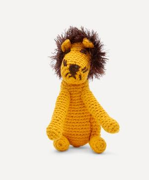 Hand-Crocheted Lion Toy