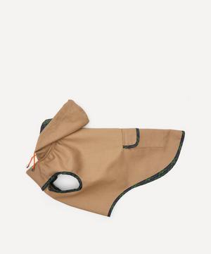 Plaid Trim Raincoat Size 3