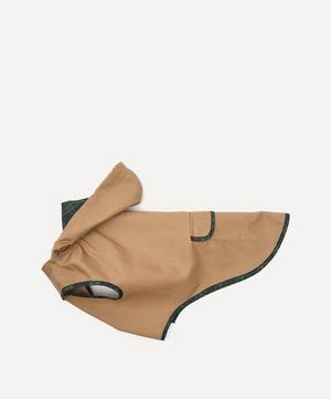 Plaid Trim Raincoat Size 4