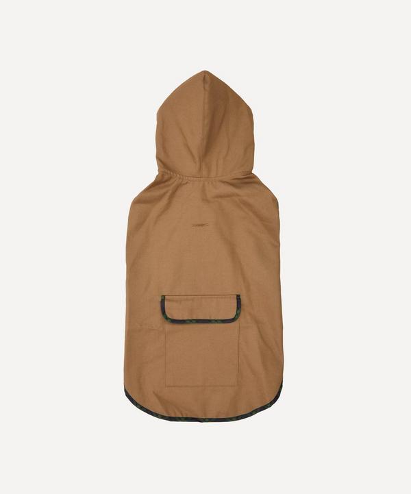 Ware of the Dog - Plaid Trim Raincoat Size 5