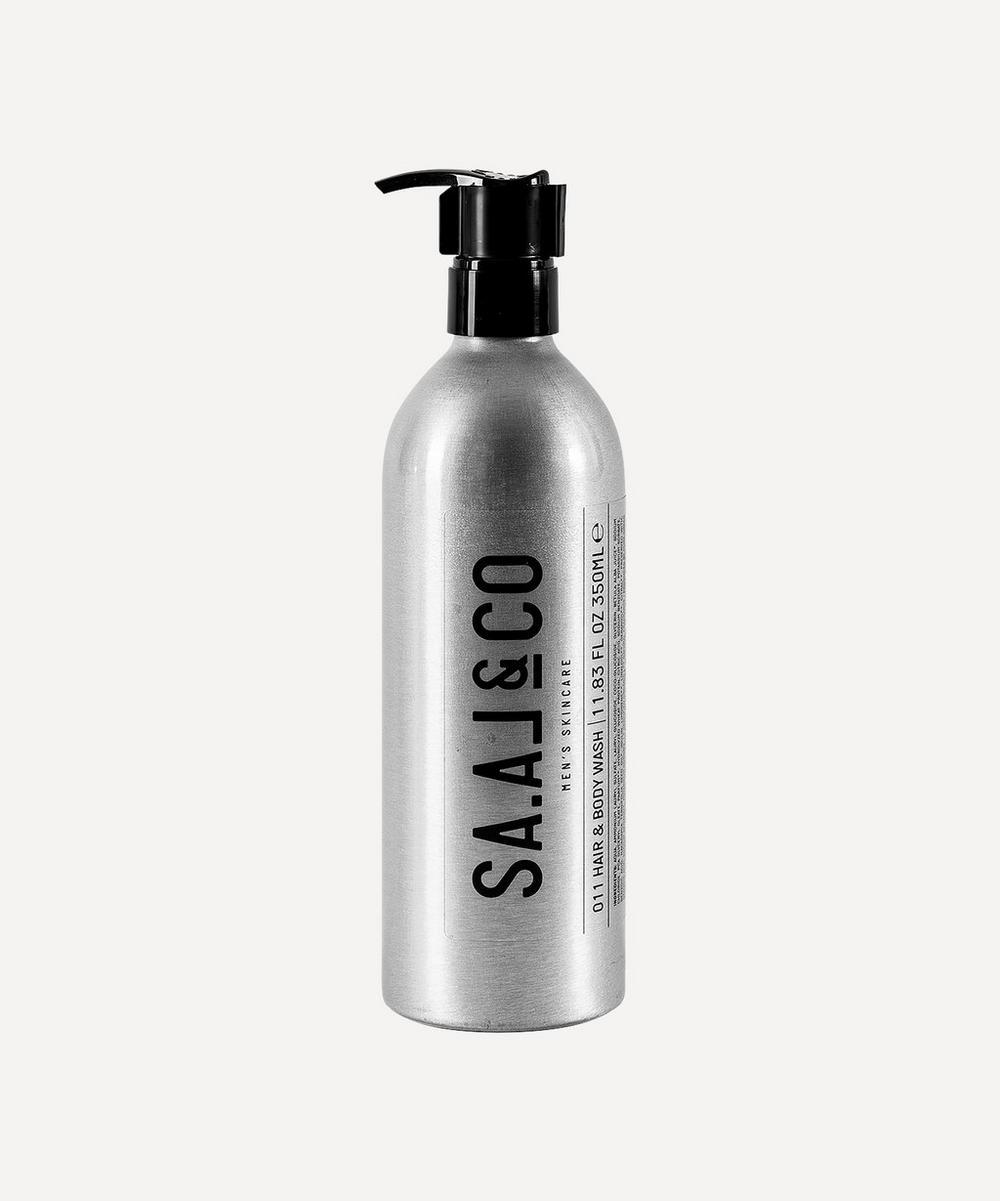 SA.AL&CO - 011 Hair & Body Wash 350ml