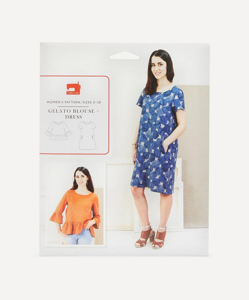 Oliver + S - Gelato Blouse and Dress Sewing Pattern