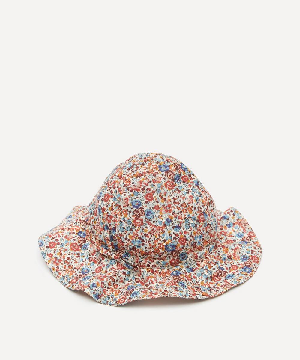 Caramel - Emma Georgina Print Sun Hat XS-S