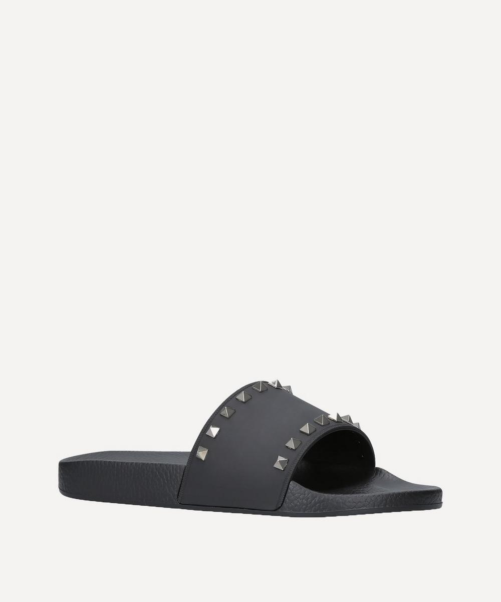 Valentino Garavani - Rubber Stud Pool Sliders