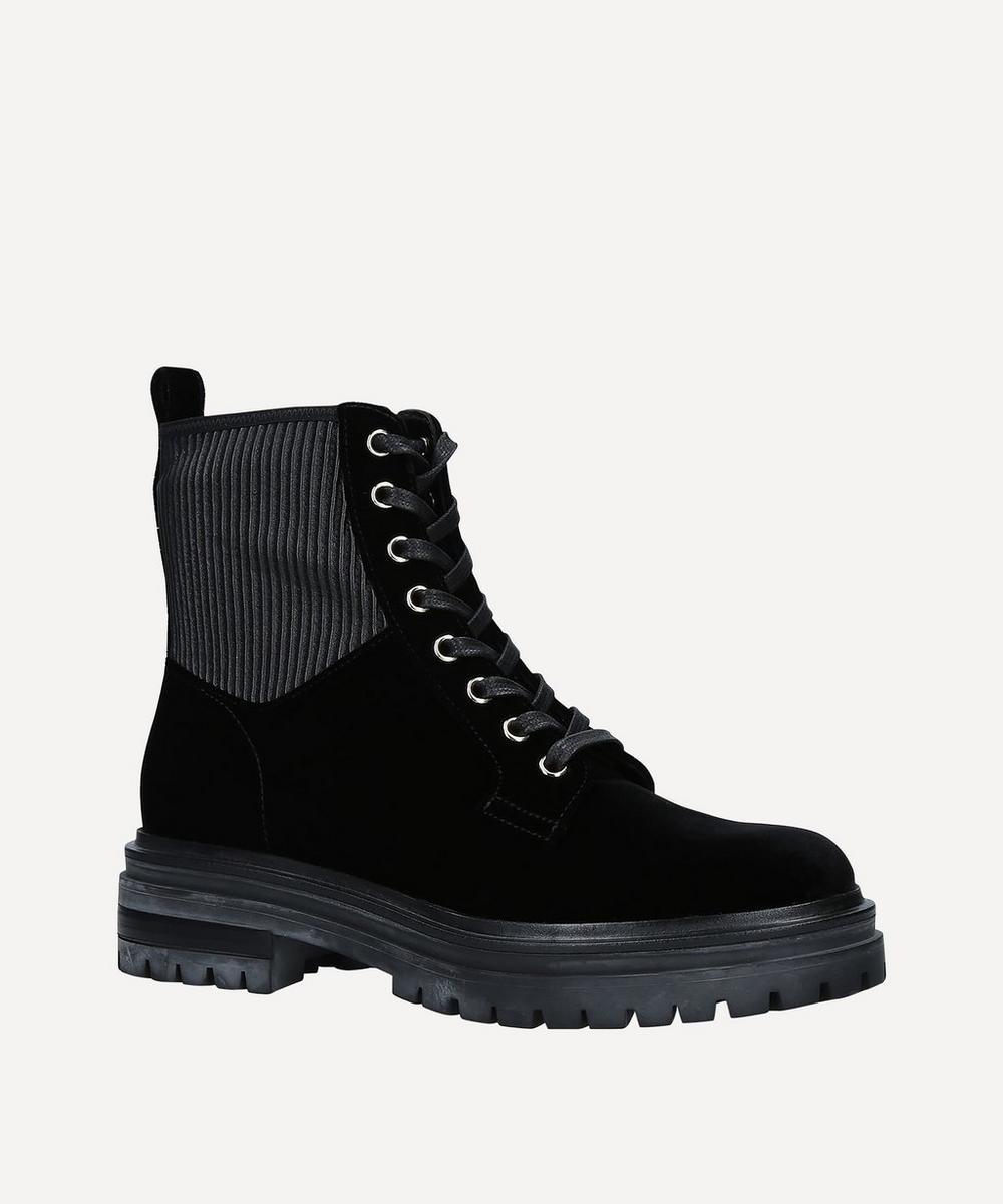 Gianvito Rossi - Martis 20 Velvet Ankle Boots