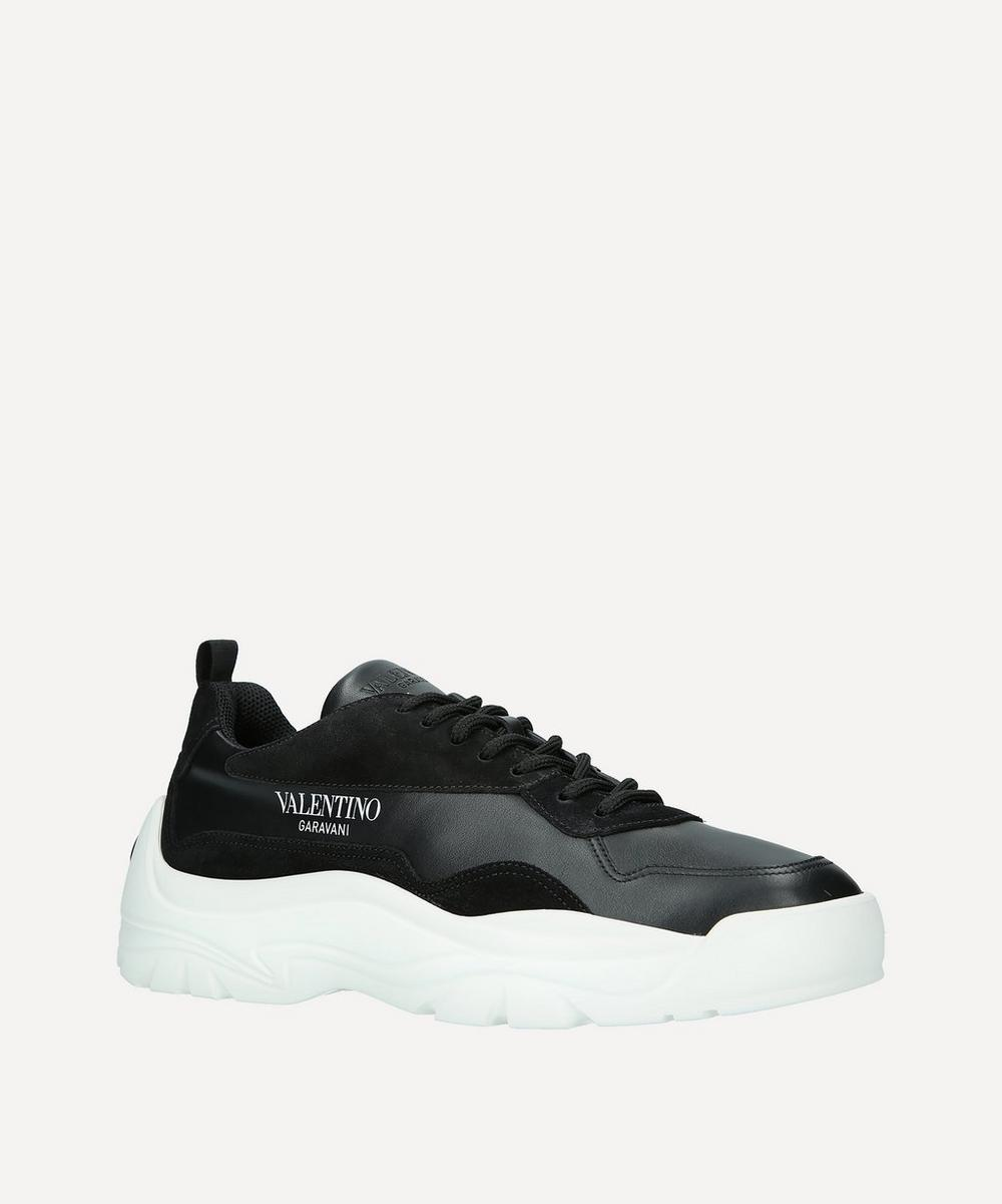 Valentino Garavani - Bansi Leather Sneakers