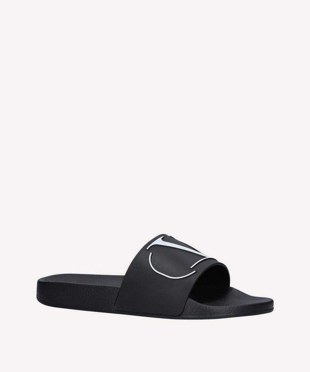 Valentino Garavani - Logo-Embossed Rubber Pool Slides