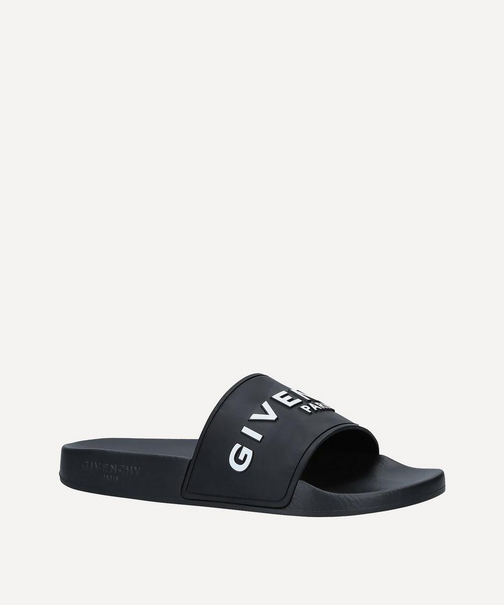 Givenchy - Logo Rubber Sliders