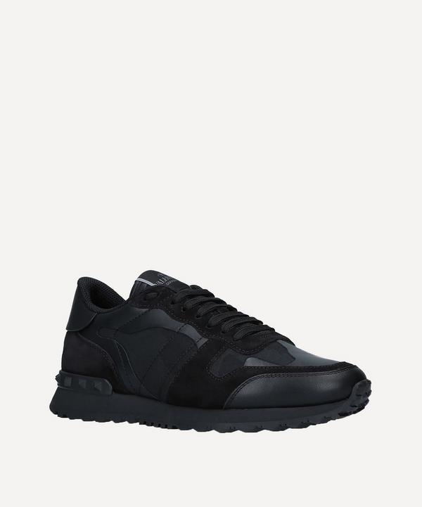 Valentino Garavani - Rockrunner Leather Camouflage Sneakers