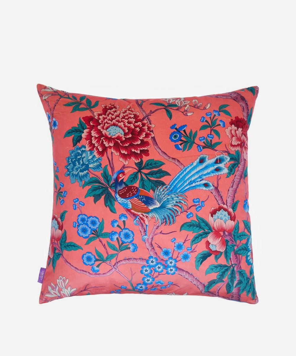 Liberty - Elysian Paradise Square Velvet Cushion
