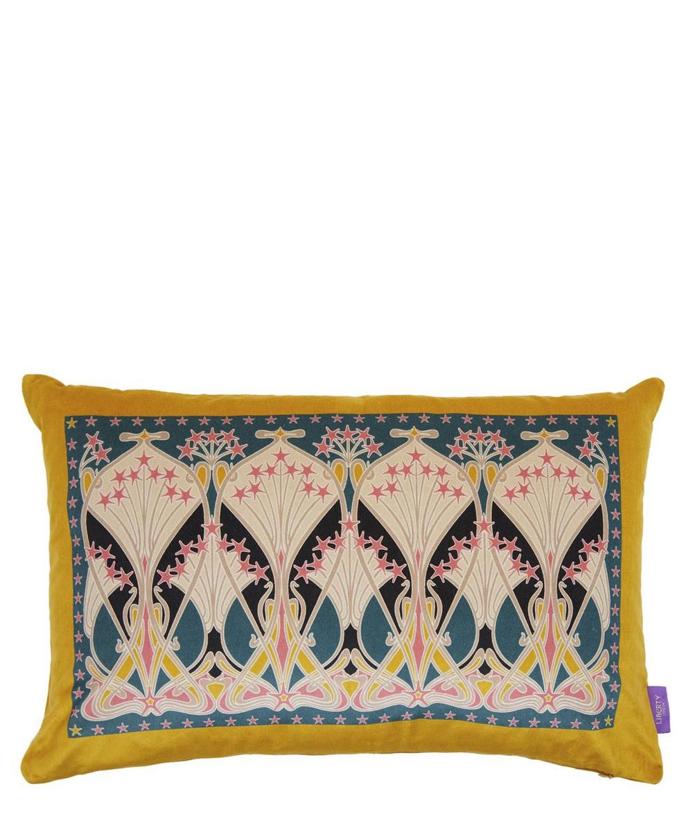 Liberty - Ianthe Star Rectangular Velvet Cushion