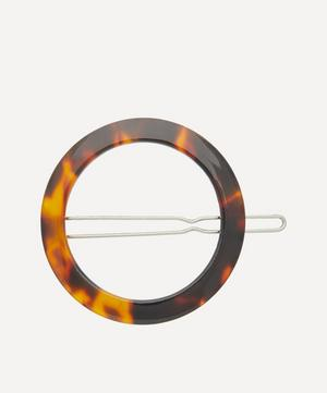 Open Circle Barrette Hair Clip