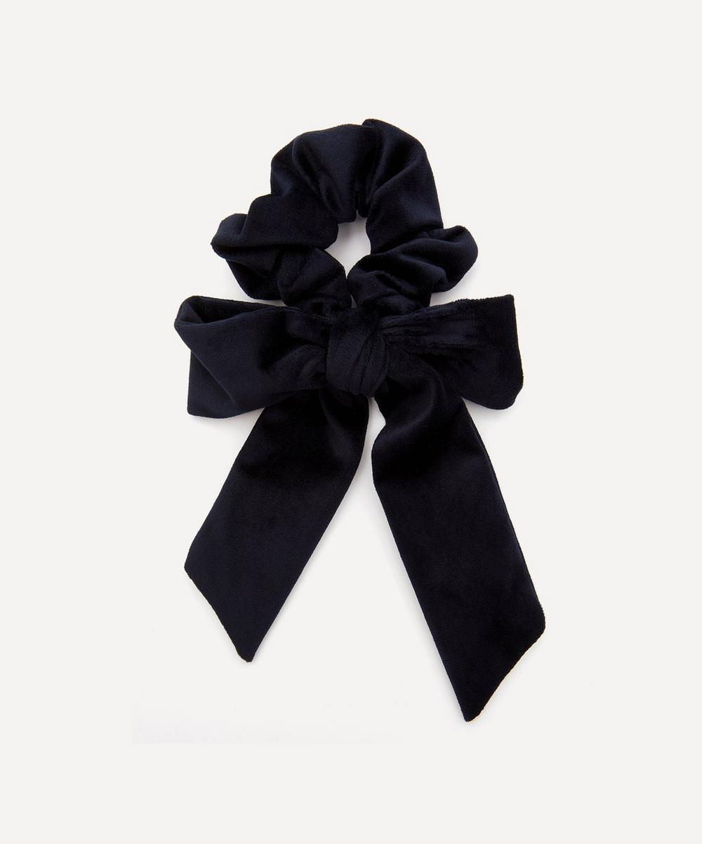 THE UNIFORM - Velvet Bow Scrunchie