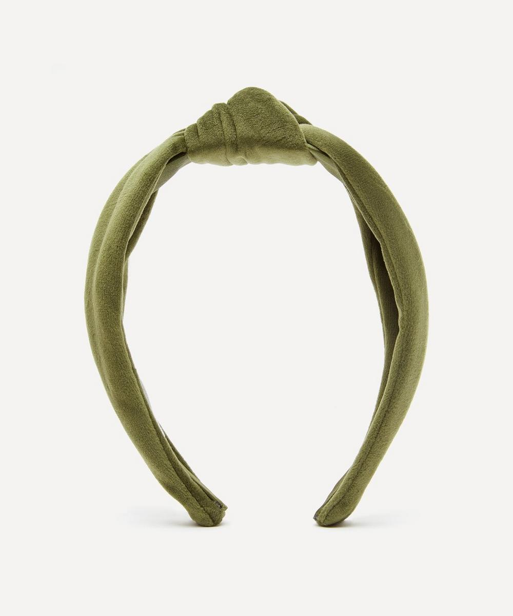 THE UNIFORM - Velvet Knot Headband