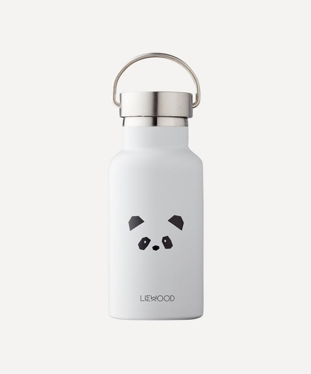 Liewood - Grey Panda Anker Water Bottle