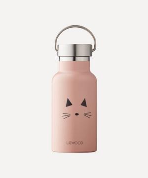 Pink Cat Anker Water Bottle