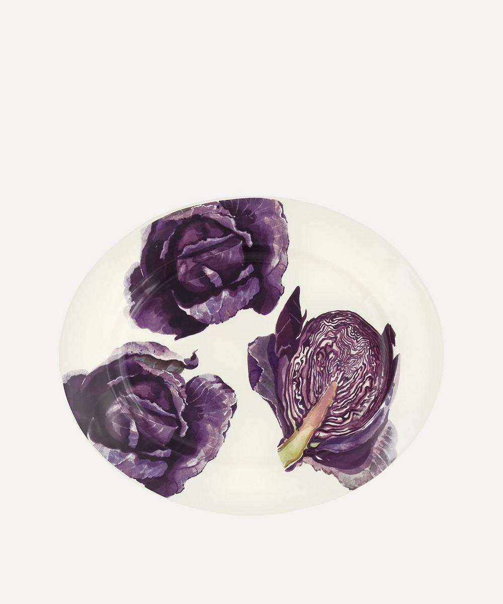 Emma Bridgewater - Red Cabbage Medium Oval Platter