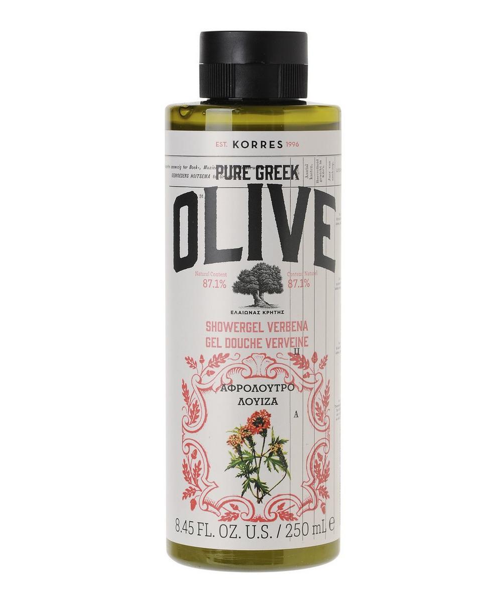 Korres - Pure Greek Olive Verbena Shower Gel 250ml