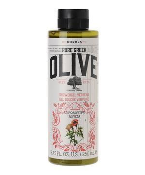 Pure Greek Olive Verbena Shower Gel 250ml