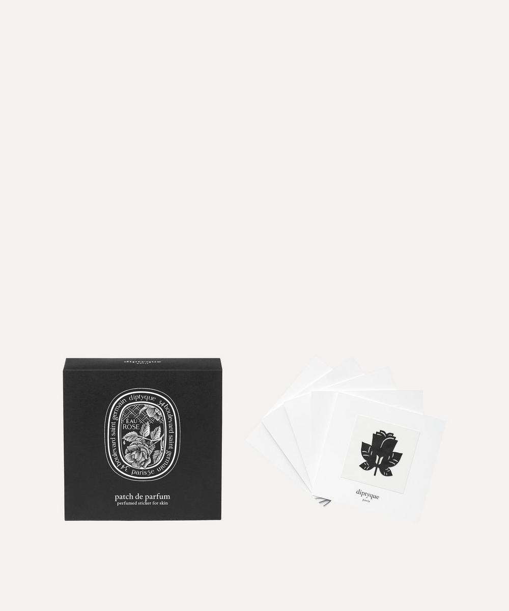 Diptyque - Eau Rose Perfumed Stickers Set of 5